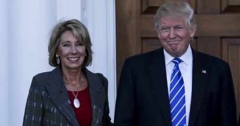 Трамп назначит напост министра образования сторонницу школьной реформы