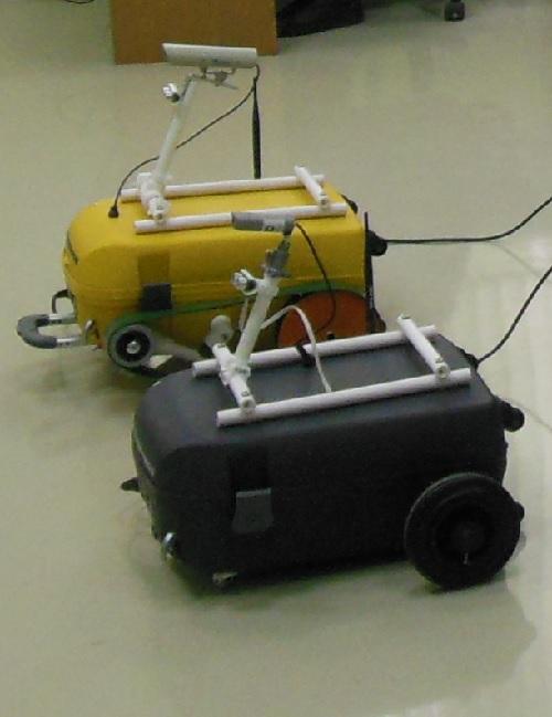 Мобильные роботы Амур  с дифференциальным колесным и гусеничным приводом