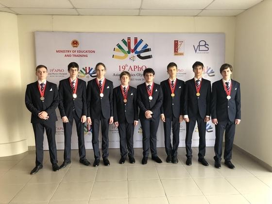 Школьники из Российской Федерации  завоевали 8 наград  намеждународной олимпиаде пофизике