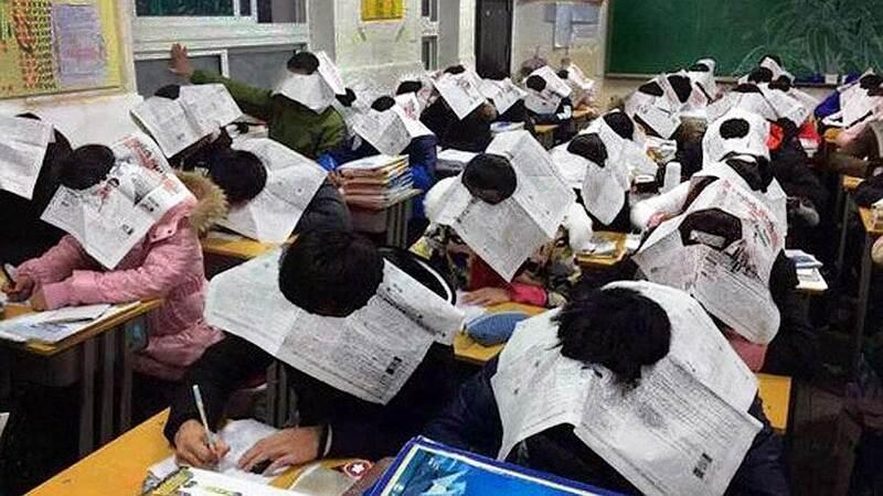 В Китае списывание на экзаменах приравнено к уголовному преступлению в 2019 году