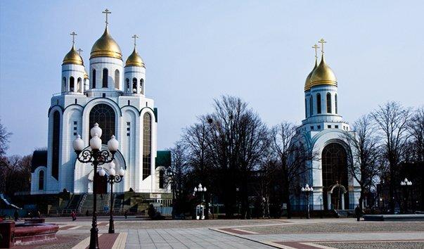 Храм Христа спасителя в Калининграде