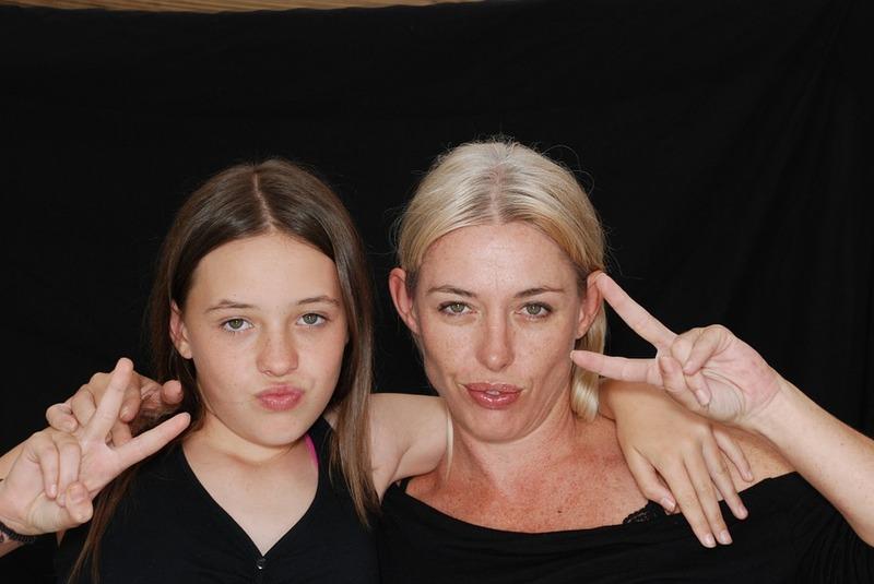 мама дочь