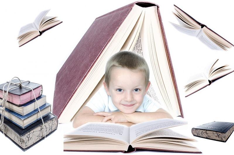ребенок книги