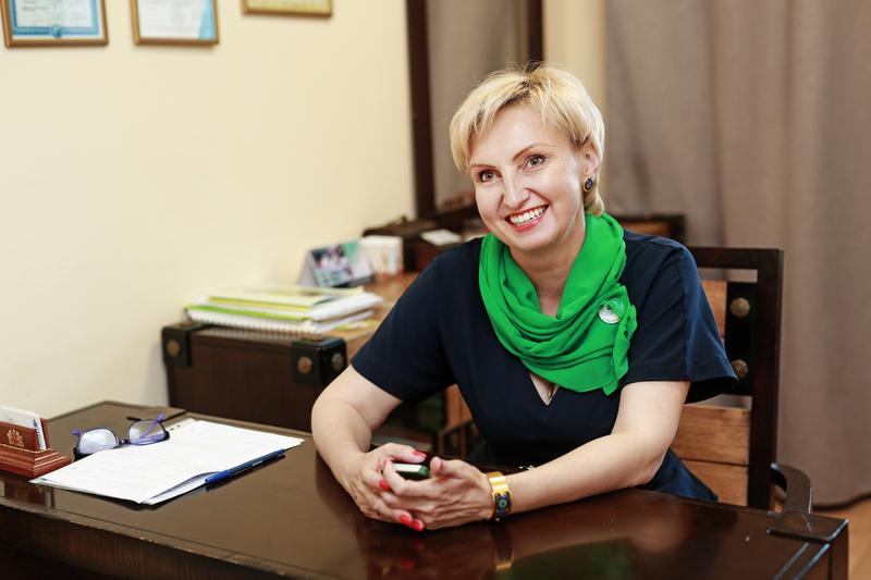 Лариса Рожкова, директор Старопышминской школы