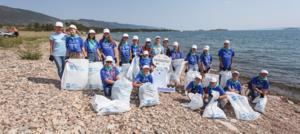 120 школьников стали волонтерами экологической акции