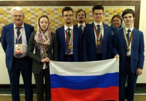 Сборная России завоевала на Международной олимпиаде по биологии четыре медали