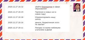 «Здравствуй, дорогой Сергей Кравцов»: школьники о том, что сказали бы министру просвещения при встрече