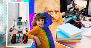 Рободефиле, лазерная пирография и 3D-работы да Винчи: чем заинтересовать современных школьников