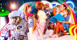С Марса на планету непослушания: проводим День космонавтики в детском саду