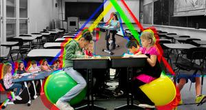 Крутиться и учиться: 6 видов мобильной мебели для гиперактивных детей